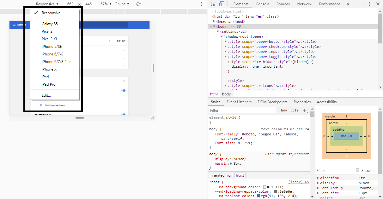 screenshot desirable size option