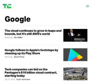 techcrunch.com - Most useful website 5