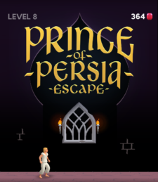 Prince Of Persia escape mobile game introductory image