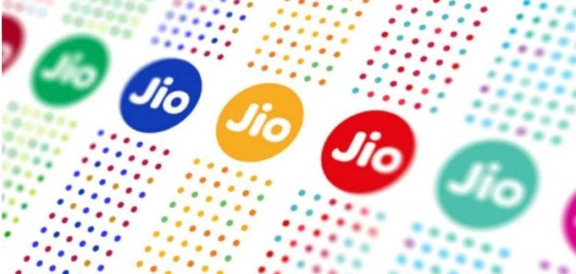 Colorful Jio Logos